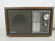 Vintage 1979 Panasonic AM/FM Radio Model RE-6289-Made In Japan