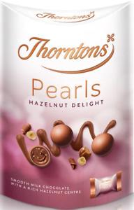 Thorntons Chocolates - Moments, Hazelnut Pearls, Salted Caramel Pearls
