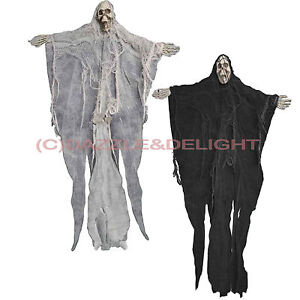 HALLOWEEN HANGING SKELETON GHOUL GHOST DECORATION SHOP WINDOW DECORATION OR HOME