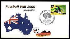 Fußball. WM-2006, Deutschland. FDC. Australien 2006