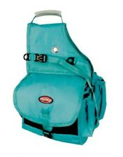 Showman TEAL Nylon Deluxe Multi Pocket Saddle Bag!!! NEW HORSE TACK!!!