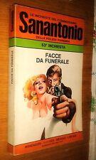 COMMISSARIO SANANTONIO # 53^ INCHIESTA - FACCE DA FUNERALE - BERù - 1974