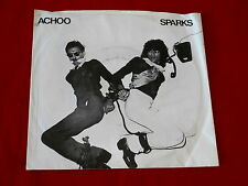 SPARKS~ ACHOO~ RARE~ PROMO~ MINT~ SOMETHING FOR THE GIRL WITH~ ISLAND ~ ROCK  45