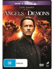 Angels & [And] Demons DVD Ron Howard BRAND NEW Tom Hanks Ewan McGregor R4