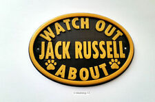 Jack Russell Terrier Plastic Humor Dog Signs & Plaques
