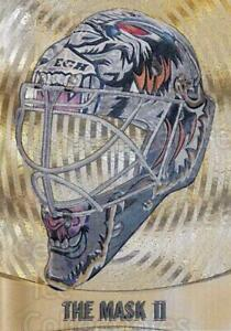 2002-03 Between the Pipes The Mask II Gold #17 Mike Dunham