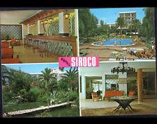 "BENALMADENA COSTA (ESPAGNE) PISCINE de l'HOTEL ""SIROCO"" & Intérieur"