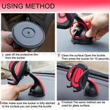 Suction Cup Mount Holder Windscreen 360° Rotation For Dash Cam Phones (NEW)