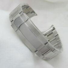 20mm Sterile Stainless Steel Watch Band Strap Fit Parnis 40mm Sub GMT Watch