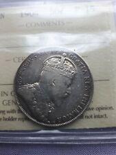 Canada 50 Cents 1904 F 15 KING EDWARD VII
