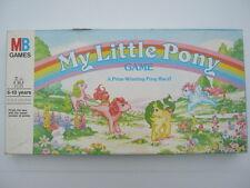 MY LITTLE PONY GAME A Prize Winning Pony Race! - Vintage Board Game (1986)