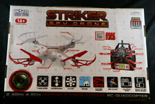 World Tech Toys 34937 Striker Spy Drone 2.4Ghz 4.5Ch Rc Video/Picture Quadcopter