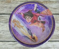 """HARRY POTTER Rare Seeker 6 3/4"""" SMALL PAPER PLATES (8) ~ Birthday Party Supplies"""