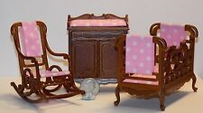 Dollhouse Miniature Windsor Baby Room Set Platinum Collection  1:12 scale K25