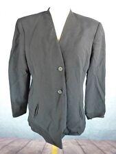 MASKA Veste Femme Taille 46 FR - Noire - Pure laine
