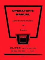 Oliver 88 Gas Diesel Ag. Ind. Tractor Operators Manual
