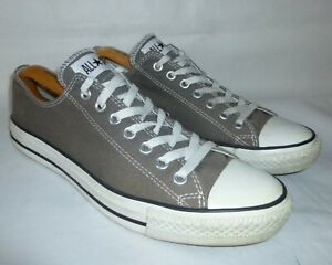 CONVERSE All Star Chuck Taylor Low Top Brown Trainers Sneakers UK 10 EU 44