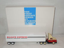 Bilkays Express Semi With Van Trailer By Winross 1/64th Scale