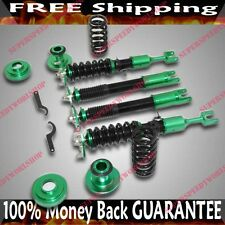 FOR Infiniti G35 03-07 Full Coilover Suspension NON Adjustable Dampering GREEN