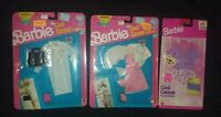 LOT OF 3 Barbie Cool Career Fashions: ARTIST CHEF DOCTOR NRFB NEW 1991-1996 RARE