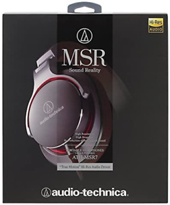 Audio-Technica ATH-MSR7 Grey Over-Ear Dynamic Headphones From Japan NEW