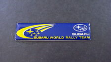 Subaru World Rally Team STI WRX WRC Badge