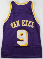 Nick Van Exel Signed Los Angeles Lakers Champion NBA Jersey (JSA CO) size 40