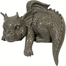 Kantenhocker Gartendrachen Garten Deko Drachen Dragon Drachenfiguren Figuren
