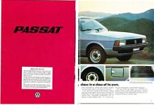 1979 VOLKSWAGEN PASSAT 24 Page German Brochure in English Aus Market