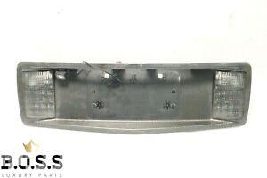 2004-2009 CADILLAC XLR REAR TRUNK LID LICENSE PLATE FRAME REVERSE LIGHT TRIM