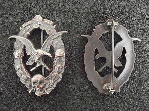 (A10-209) Österreichisches Abzeichen Sturm-Bataillon 35 WWI