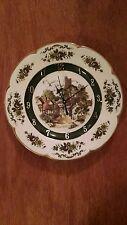 Cottage Village Vintage Clock Plate !