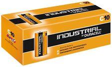 10x Duracell Industrial Batterie C Baby 1,5V LR14 MN1400 E93 R14 AM2 ½ Torcia