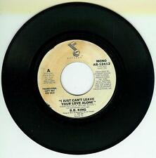 B B KING I JUST CANT LEAVE YOUR LOVE ALONE MONO/STEREO DEMO US ABC 12412