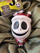 "THE NIGHTMARE BEFORE CHRISTMAS Tree Ornament 5"" Jack Santa Hallmark Disney NEW"