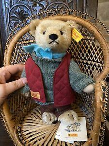 Vintage Steiff Bear With Original Label. 028625. Excellent Condition