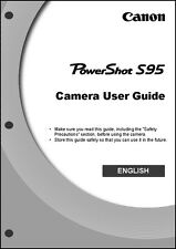 Canon Powershot S95 Digital Camera User Guide Instruction  Manual