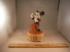 """Vintage Disney Mickey Mouse Conductor """"Mickey Mouse Club"""" Music Box"""