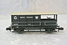 Graham Farish  377-375B  N Scale 20T Toad Brake Van GWR Grey Merthyr  C-9 NIB