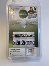 Magnetic Baby Safety Cabinet Lock Cupboard Door Drawer Kitchen Bath New Set of 4