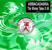 "ABBACADABRA The Winner Takes It All 12"" Vinyl EP Almighty UK 1992 ALMY026T @VGC@"