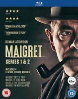 Maigret Serie 1 A 2 Collezione Completa Blu-Ray Nuovo (2EBD0424)