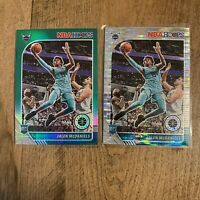 2019-20 NBA Hoops Premium Stock Jalen McDaniels Green Prizm & Pulsar RC Lot