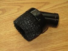 "1 1/4"" Universal Black Nylon Bristle Dust Brush Fit 1.25"" Attachment Vacuum Tool"