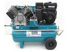GIEB Kompressor Kompressoren 1100/90-11 Bar,Benzinmotor 13 PS E-Start,Gasregul.