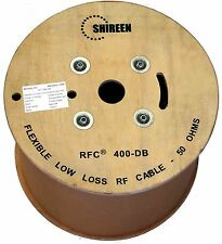 Low Loss direct burial 1000' foot Spool RFC400DB  LMR-400DB LMR400DB Shireen