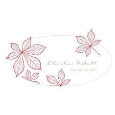 Autumn Leaf Fall Large Window Cling Wedding Reception Ceremony Decoration