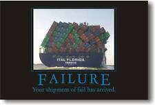 Failure - Humor Joke Funny Motivational Print    POSTER