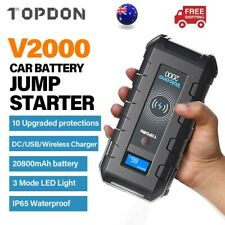 20000mah Portable Car Jump Starter Vehicle Charger Power Bank Battery Engine