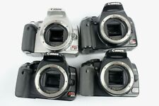 Canon EOS Rebel XSi/XTi Bodies 400D 450D (Lot of 4)